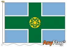 - DERBYSHIRE ANYFLAG RANGE - VARIOUS SIZES
